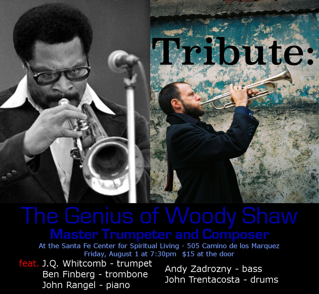 Woody Shaw Tribute concert Flier